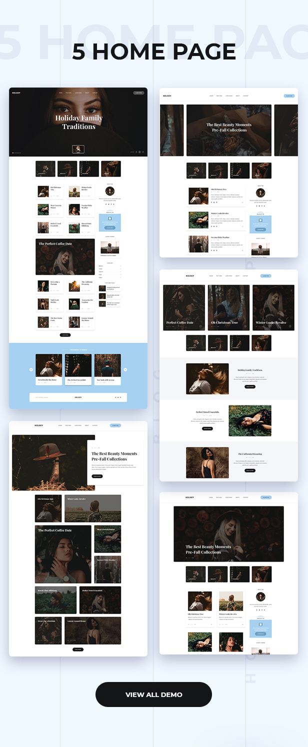 Kelsey - Creative Personal Blog HTML Template - 2